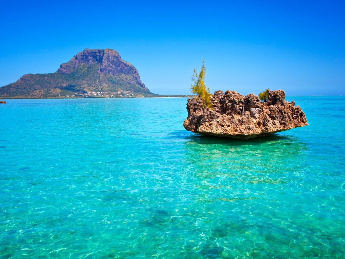 Trip Ideas water sky outdoor mountain Nature Sea landform geographical feature body of water archipelago islet Ocean Coast caribbean bay vacation Island Beach Lagoon cape tropics cove Lake terrain blue surrounded distance day