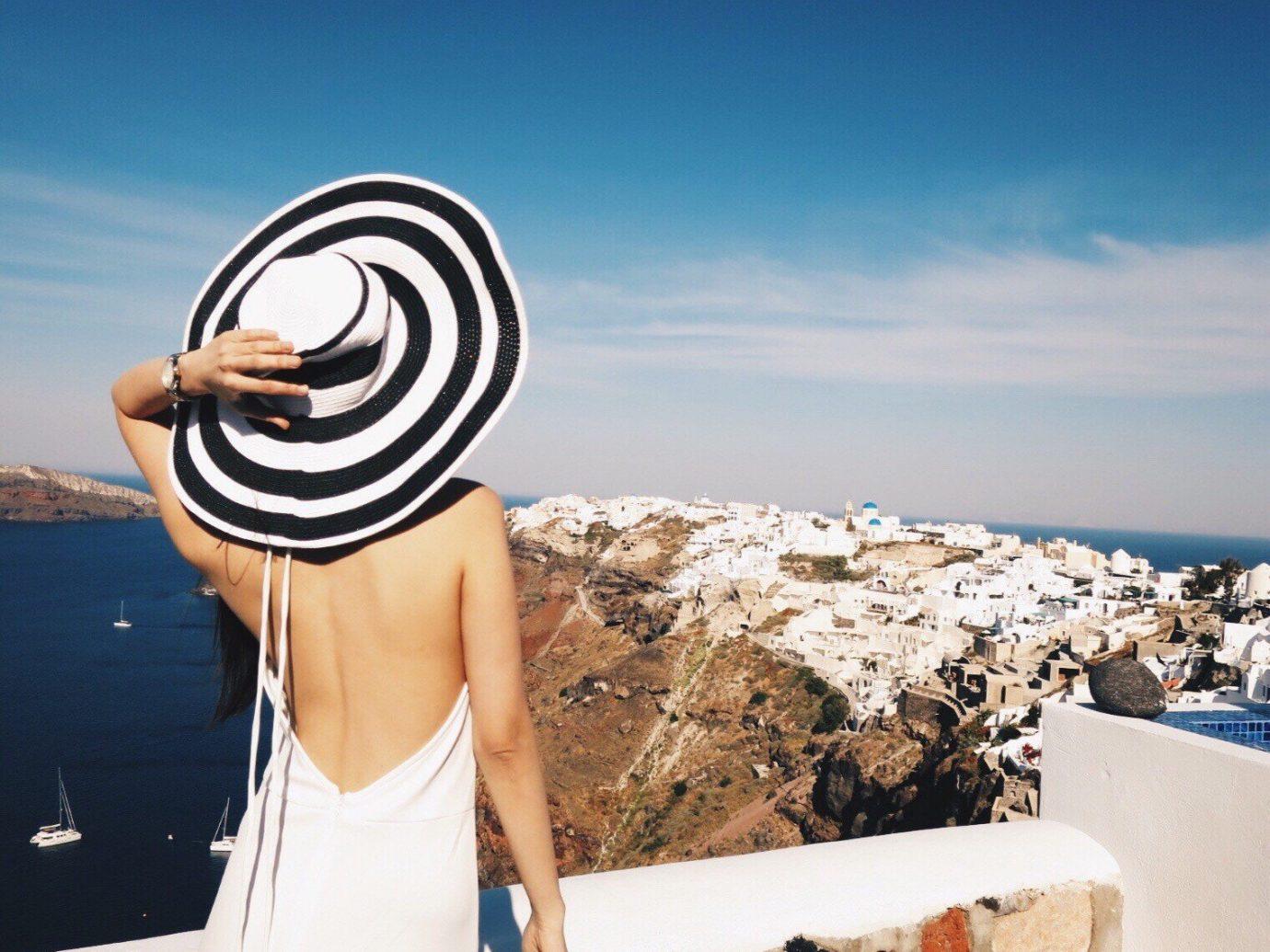 Cruise Travel Style + Design Trip Ideas sky person outdoor blue woman vacation spring Sea photo shoot posing