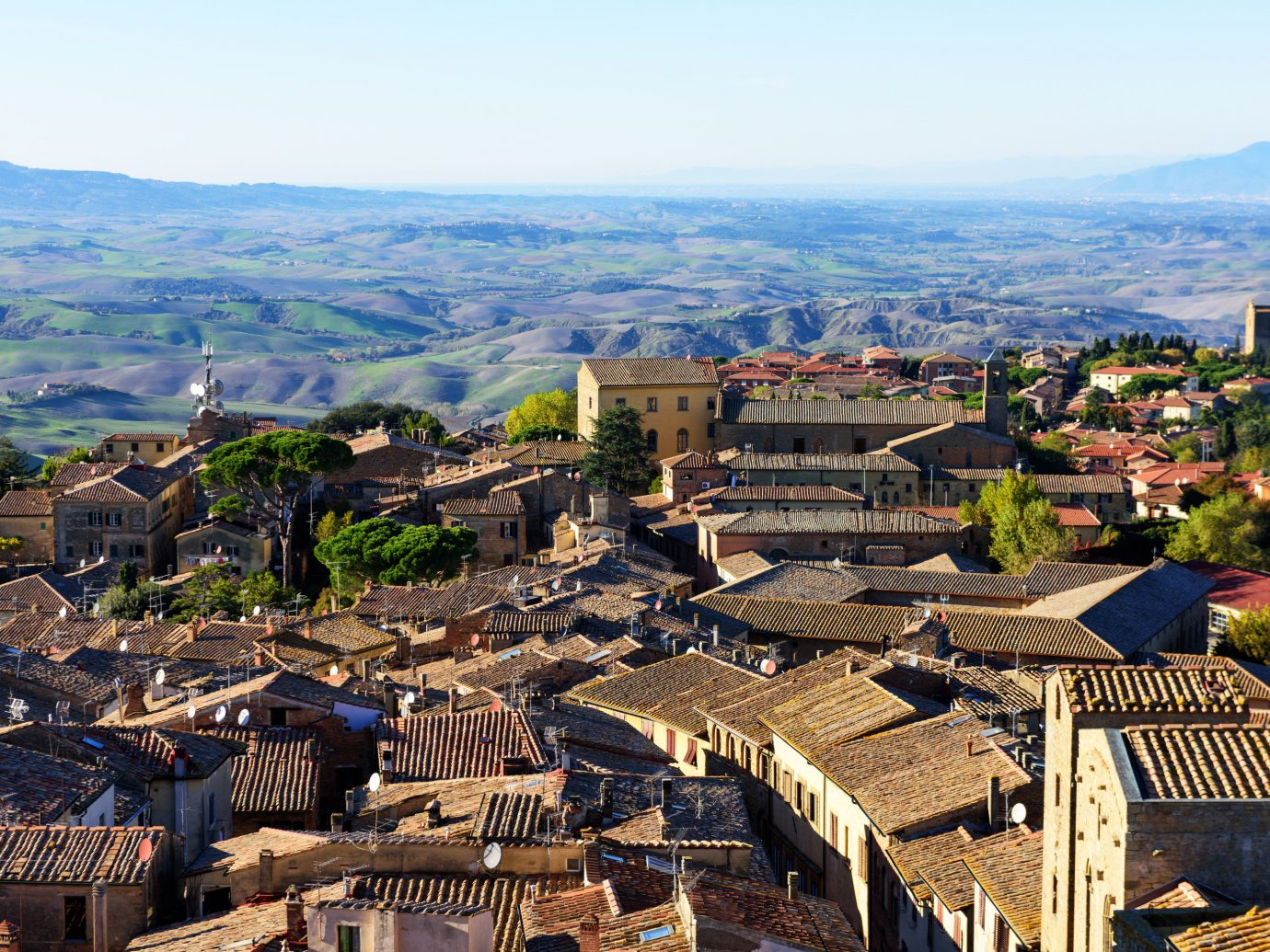 Italy Trip Ideas City mountain village sky urban area Town Village bird's eye view mountain historic site residential area tree suburb aerial photography ancient history tourism cityscape roof hill landscape plant