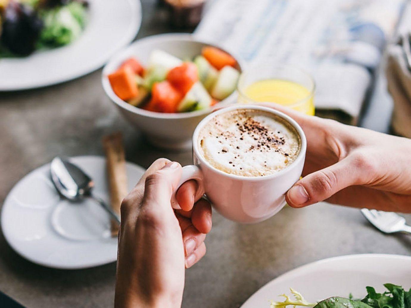 Hotels plate food table person meal lunch dish brunch breakfast produce sense dinner taste