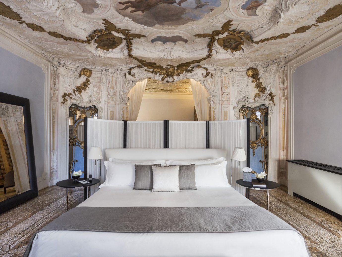 Hotels indoor wall bed room property estate living room interior design ceiling mansion floor furniture Suite Bedroom Design hotel real estate