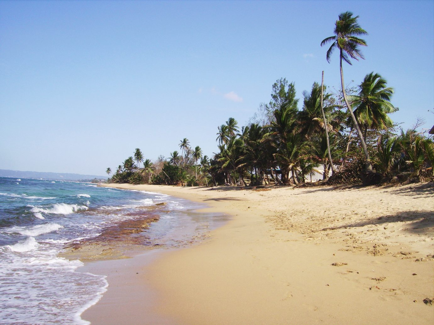 Spanish Wall Beach in Rincon, Puerto Rico