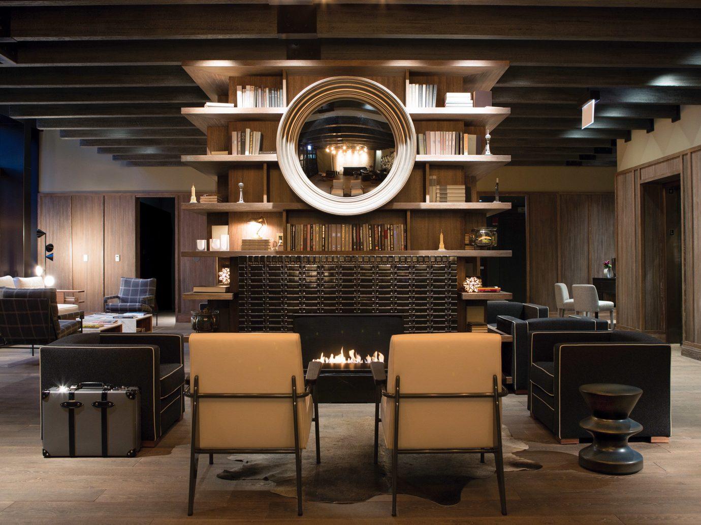 Hip Hotels Living Lounge Luxury Modern floor indoor ceiling room Lobby interior design conference hall lighting dining room Design furniture
