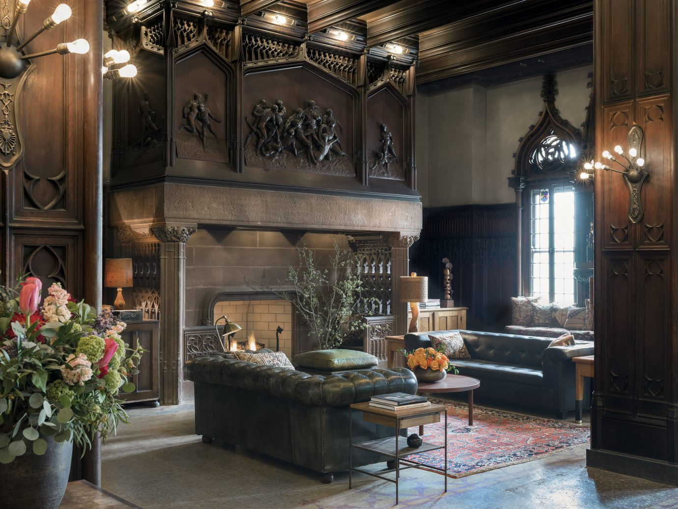 Trip Ideas indoor room flower estate interior design home living room Lobby altar mansion furniture decorated stone