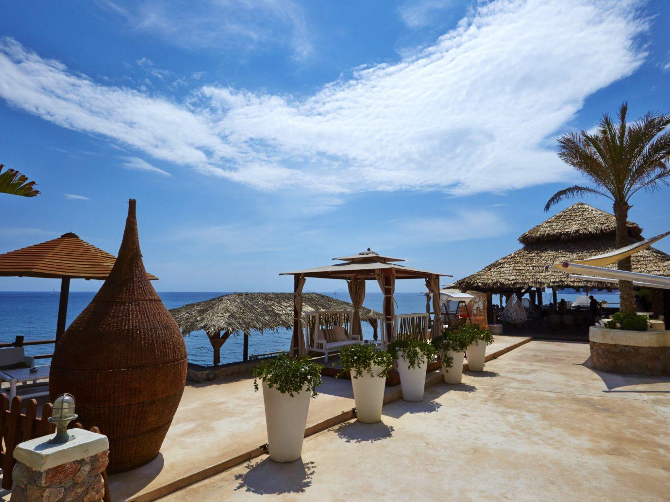 Trip Ideas sky outdoor Resort Beach vacation estate Sea tourism Ocean Coast arecales caribbean Villa bay shade day sandy