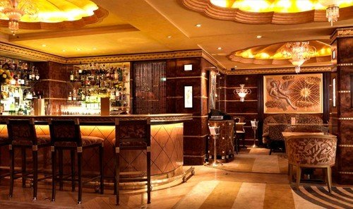 Hotels indoor floor ceiling Lobby Bar function hall meal restaurant Dining interior design café area furniture
