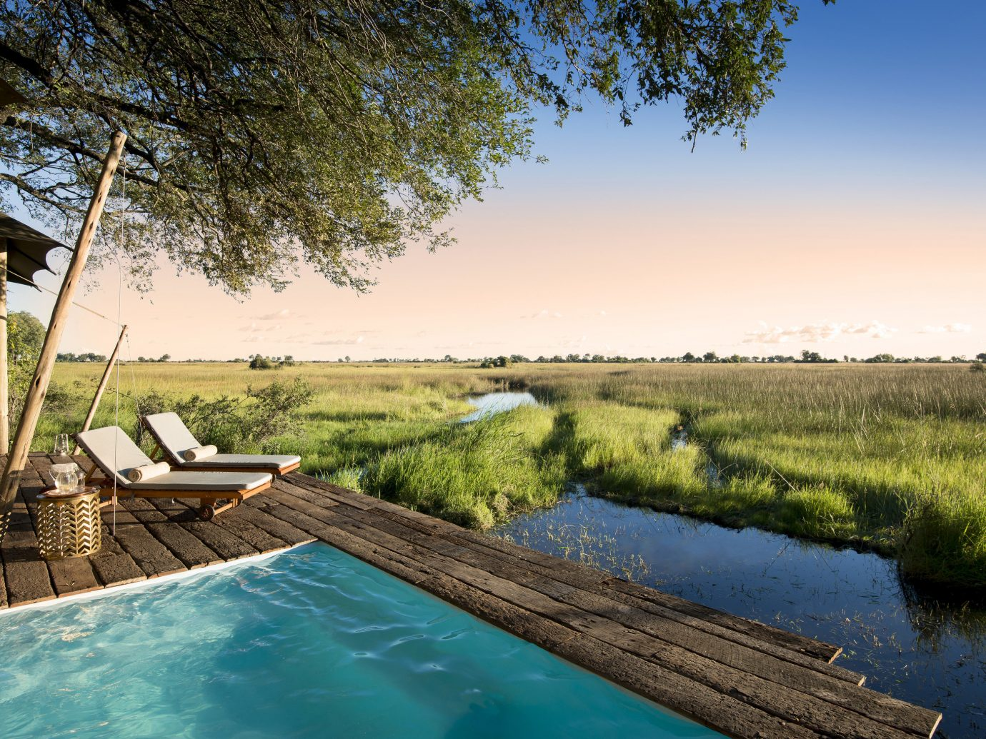 Trip Ideas tree outdoor water grass swimming pool Lake estate vacation River landscape reflection backyard pond
