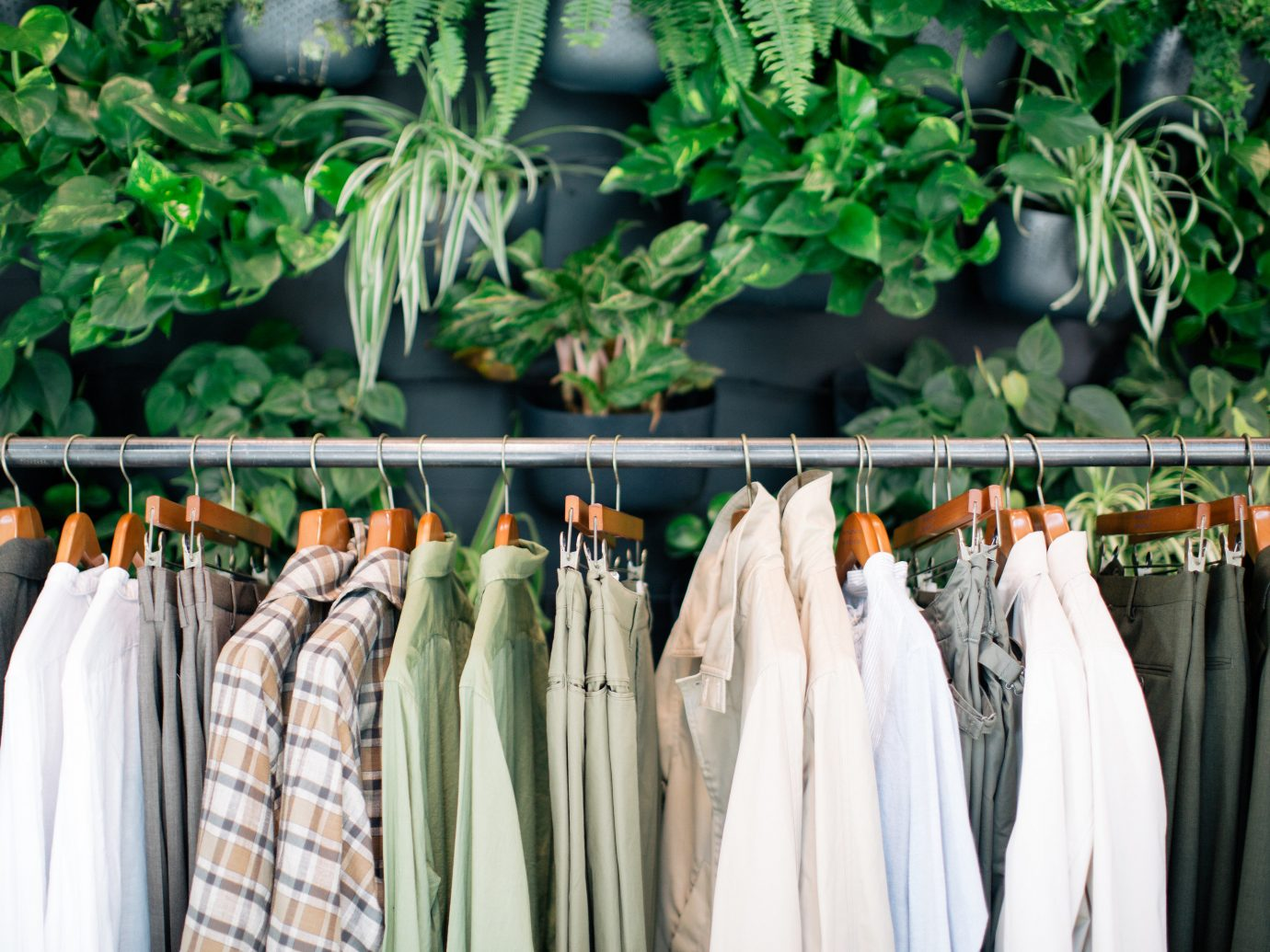 Arts + Culture Hotels Jetsetter Guides shopping Travel Trends Trip Ideas hanging produce group bunch rack row different arranged line several closet
