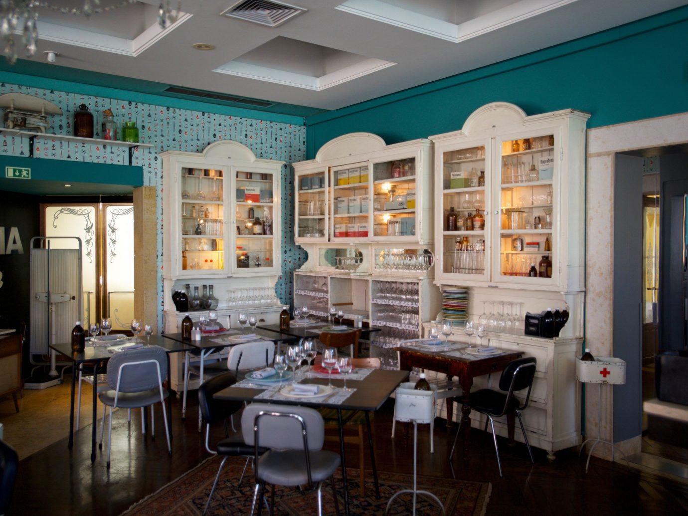 Trip Ideas indoor floor ceiling room restaurant interior design café Design furniture cluttered