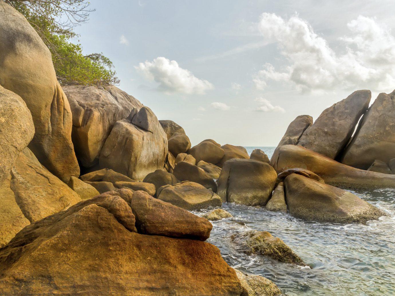 Trip Ideas outdoor rock Nature mountain wilderness Sea shore water boulder Coast Ocean wadi landscape geology material terrain cliff wave stone