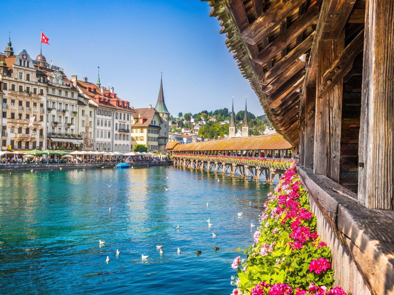 Trip Ideas outdoor water scene landmark Town tourism River vacation waterway reflection cityscape flower Sea travel
