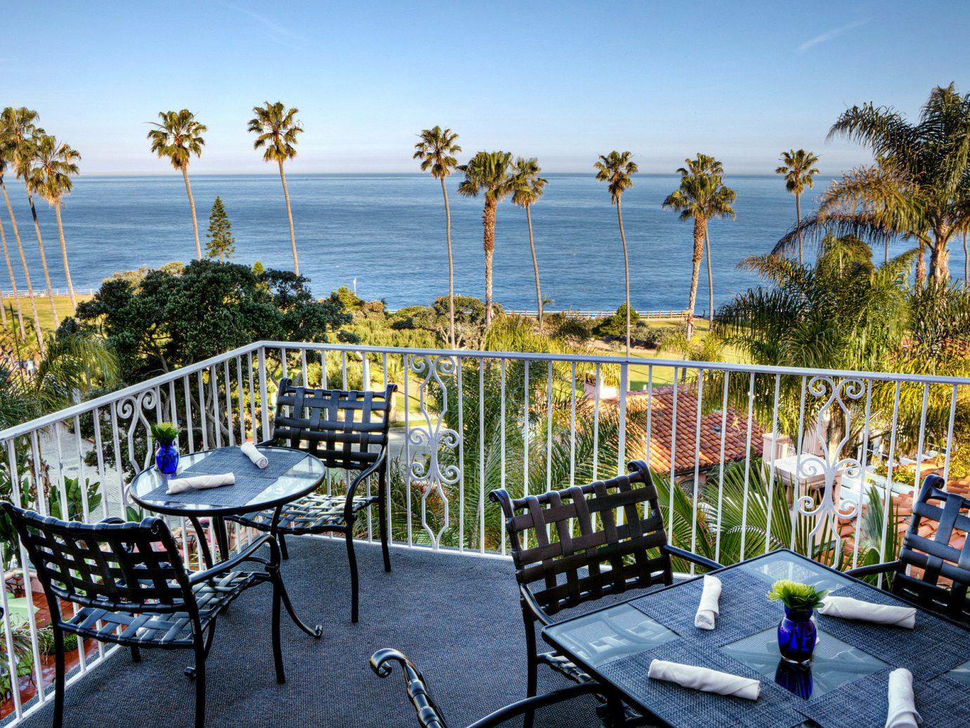 Outdoor Patio At La Valencia Hotel, San Diego