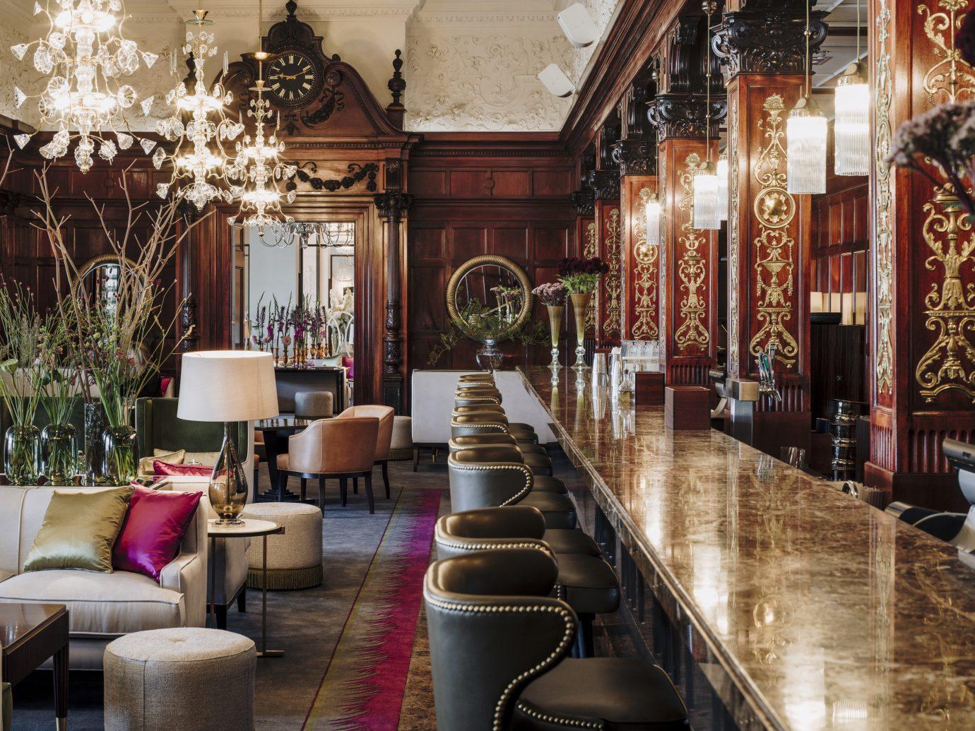 Hotels Stockholm Sweden indoor floor room interior design Living restaurant Lobby furniture Dining area several