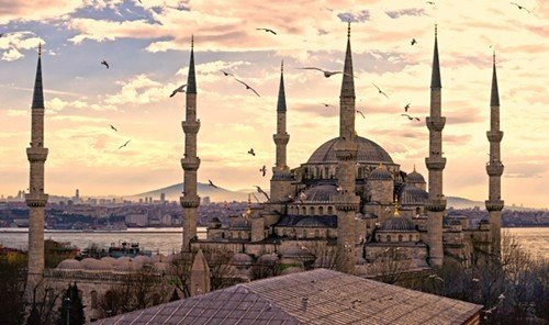 Trip Ideas outdoor historic site mosque place of worship screenshot ancient history panorama day