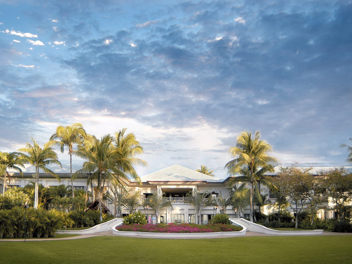 Architecture Buildings Design Exterior Jetsetter Guides Resort outdoor tree sky grass structure estate house plant vacation sport venue residential area arecales