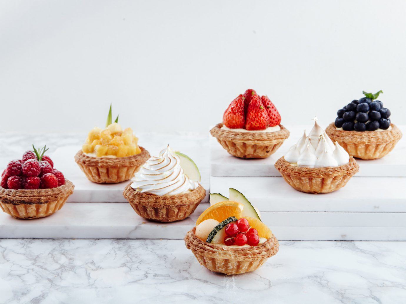 Food + Drink France Paris food strawberry plate dessert cupcake strawberries cake produce fruit muffin dish meal breakfast baked goods baking several