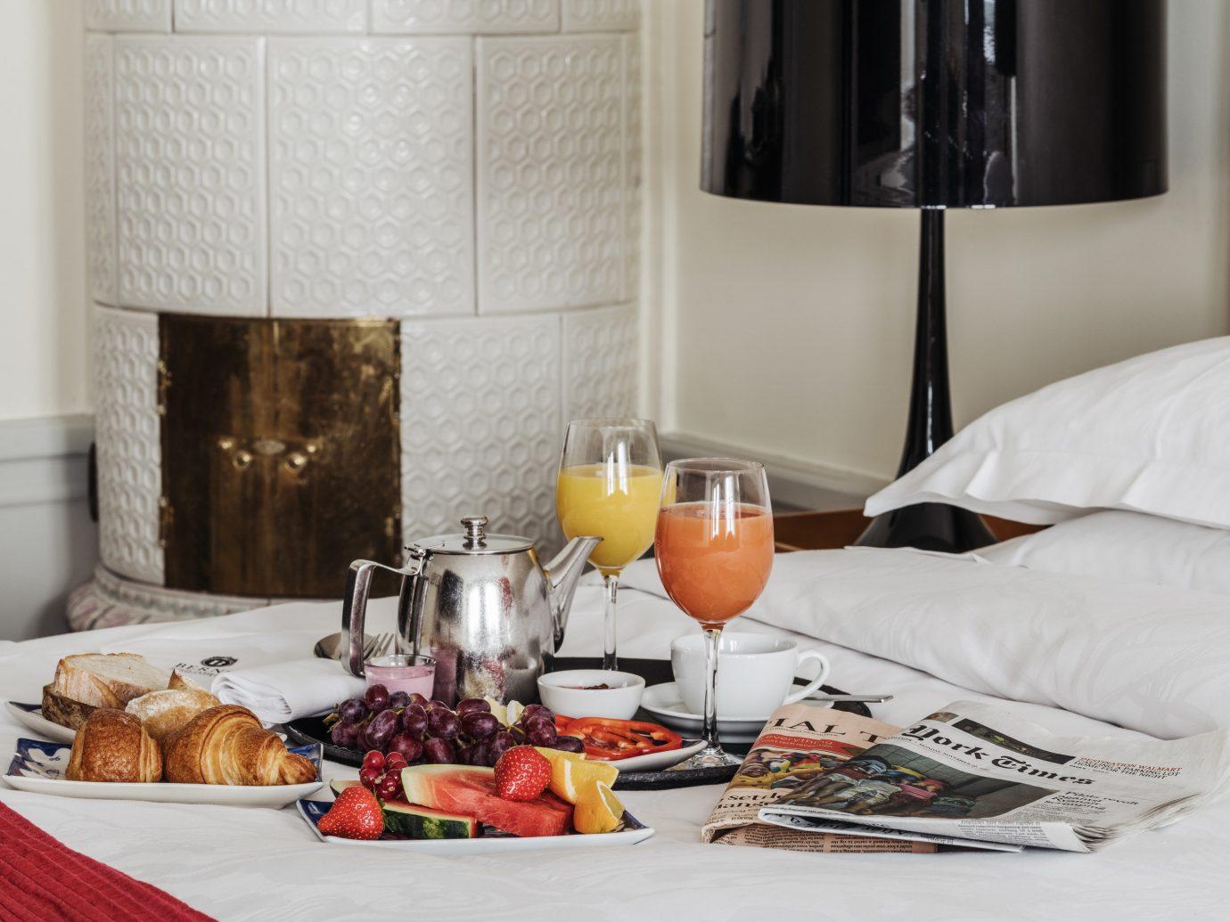 Hotels Stockholm Sweden indoor wall bed table stemware interior design tableware brunch wine glass breakfast