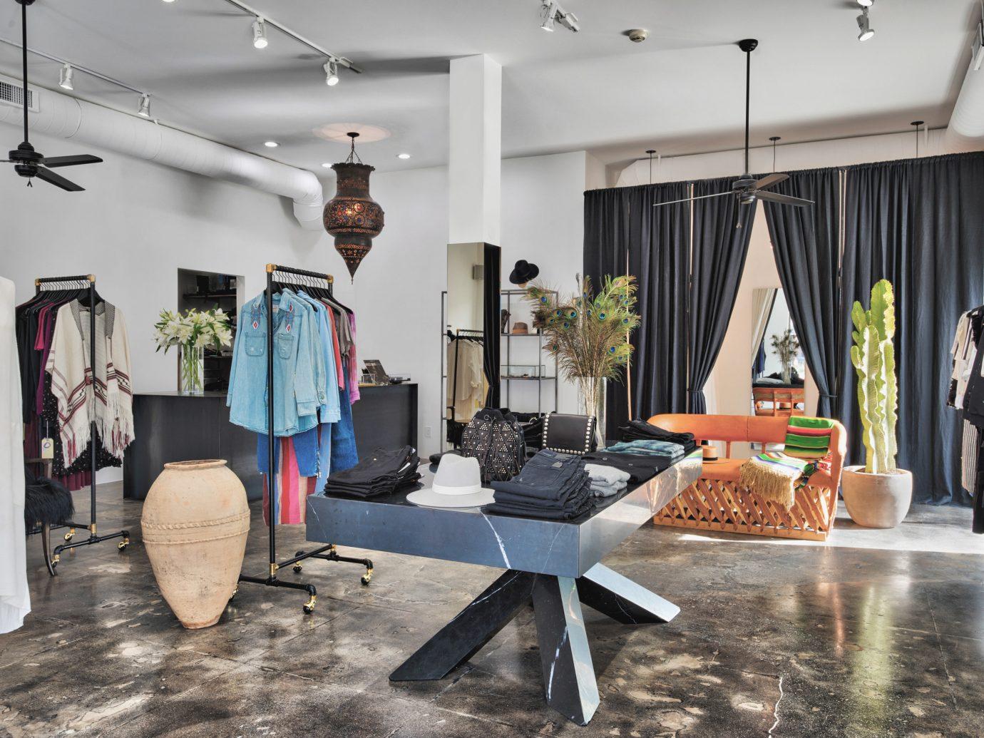 Jetsetter Guides indoor room art Boutique interior design Design studio area furniture