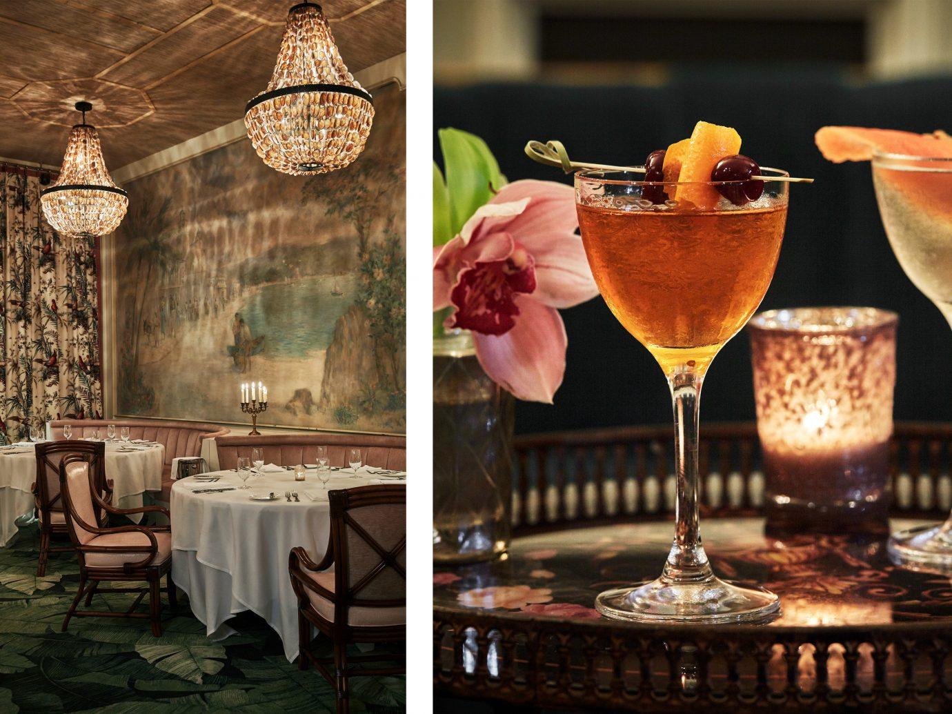 Food + Drink indoor wine glass room restaurant meal Drink Bar several