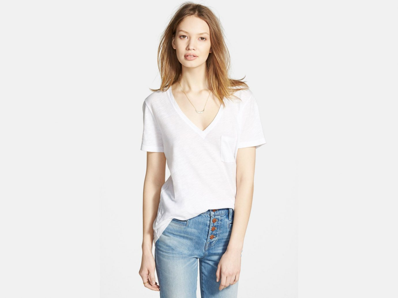 Style + Design Travel Shop person clothing sleeve fashion model shoulder neck joint supermodel posing blouse t shirt top one piece garment trouser