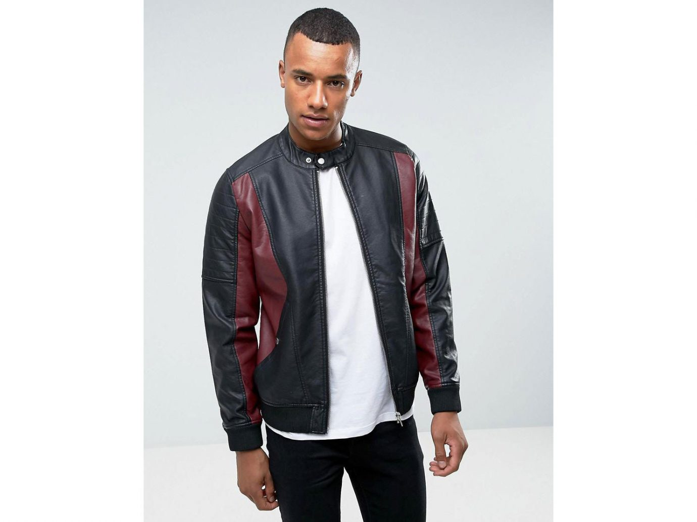 Packing Tips Style + Design Travel Shop person man suit jacket leather jacket standing posing wearing leather textile outerwear formal wear material gentleman dressed sleeve facial hair neck blazer clothing