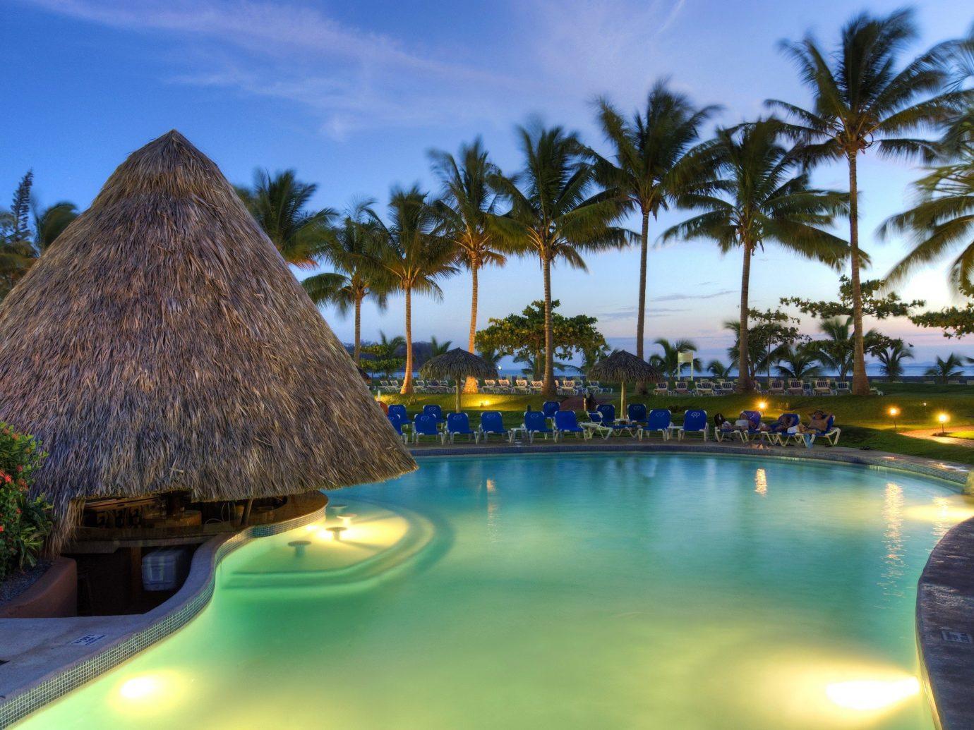 The pool at Fiesta Resort All Inclusive Costa Rica