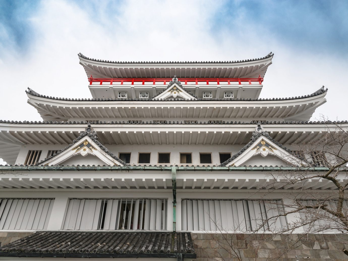 Day Trips sky outdoor chinese architecture building landmark place of worship structure Architecture japanese architecture historic site facade roof palace temple lamasery