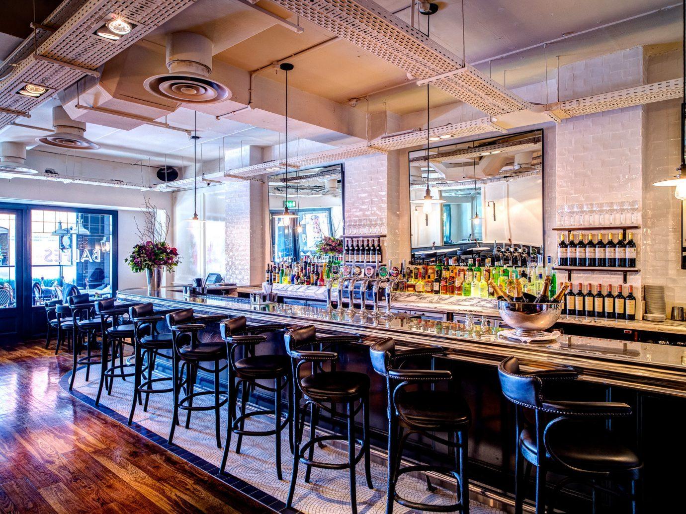 Dublin Hotels Ireland indoor floor table ceiling restaurant interior design Bar café Lobby furniture several