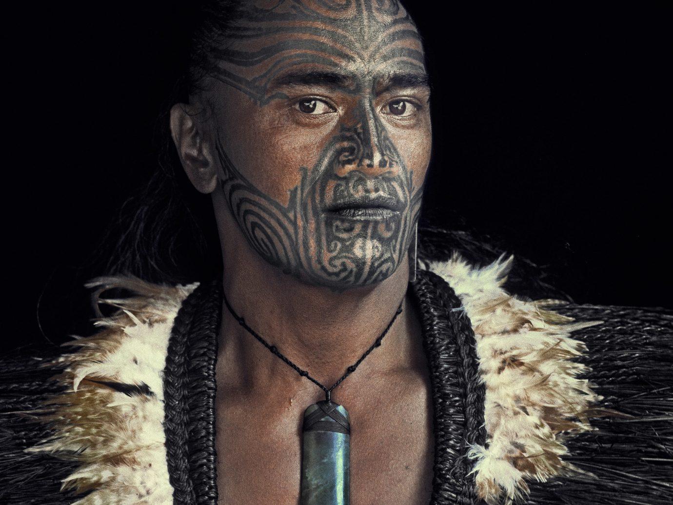 Arts + Culture person head art costume portrait masque dark