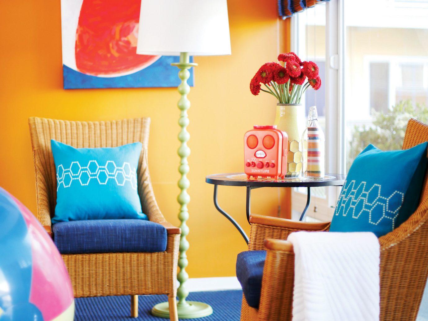Living room at Hotel Del Sol