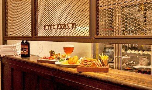 Jetsetter Guides room interior design food meal restaurant Design cuisine window covering