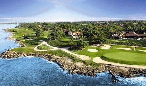 Hotels outdoor sky water grass structure Nature sport venue golf course golf club sports Golf estate shore