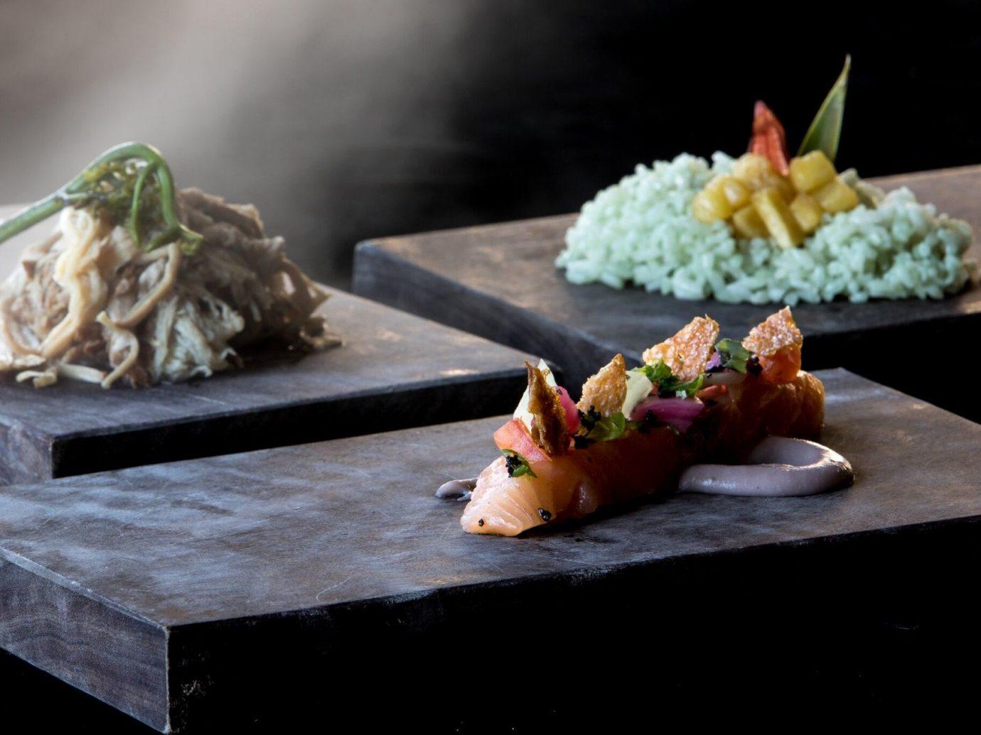 Jetsetter Guides table food dish cuisine meal restaurant asian food produce sushi sense