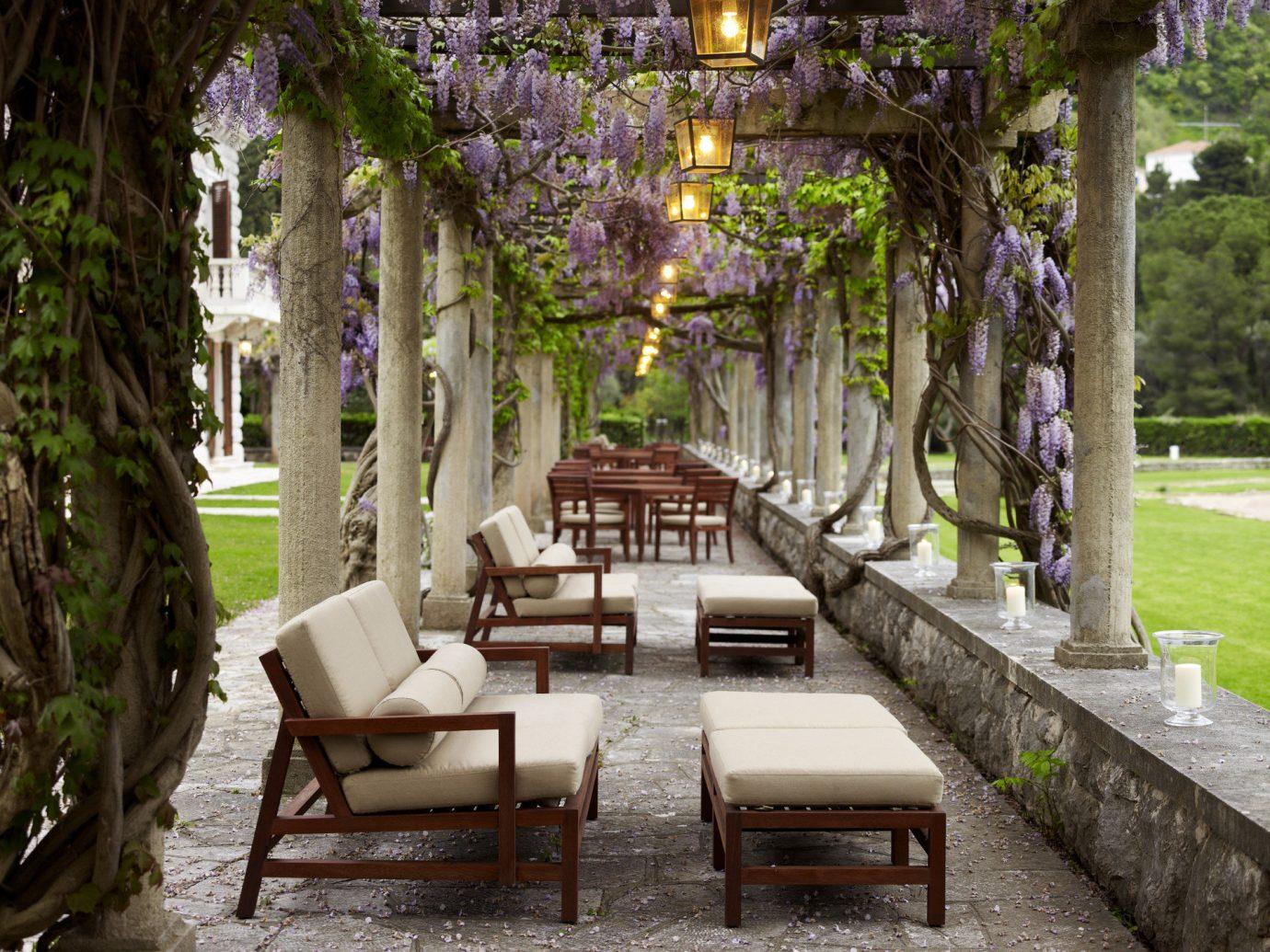 Trip Ideas tree outdoor estate park Courtyard backyard home mansion Garden flower Villa outdoor structure cottage yard hacienda Resort area