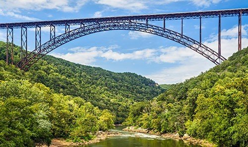 Trip Ideas bridge tree outdoor River water building sky crossing traveling mountain arch bridge nonbuilding structure long viaduct suspension bridge reservoir Lake passing hillside