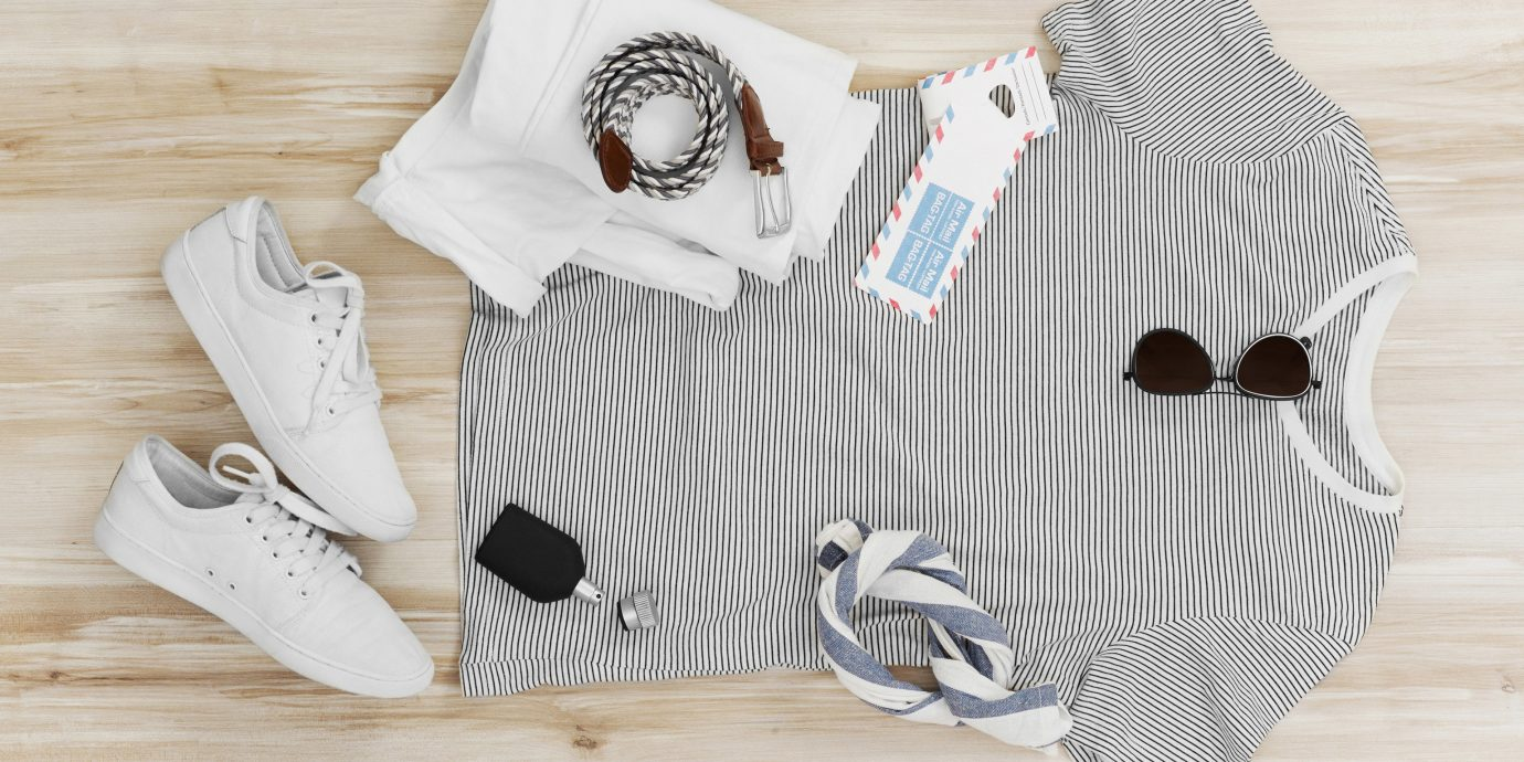 Hotels Packing Tips Style + Design Trip Ideas white clothing sleeve t shirt product outerwear sweater shirt textile collar pattern