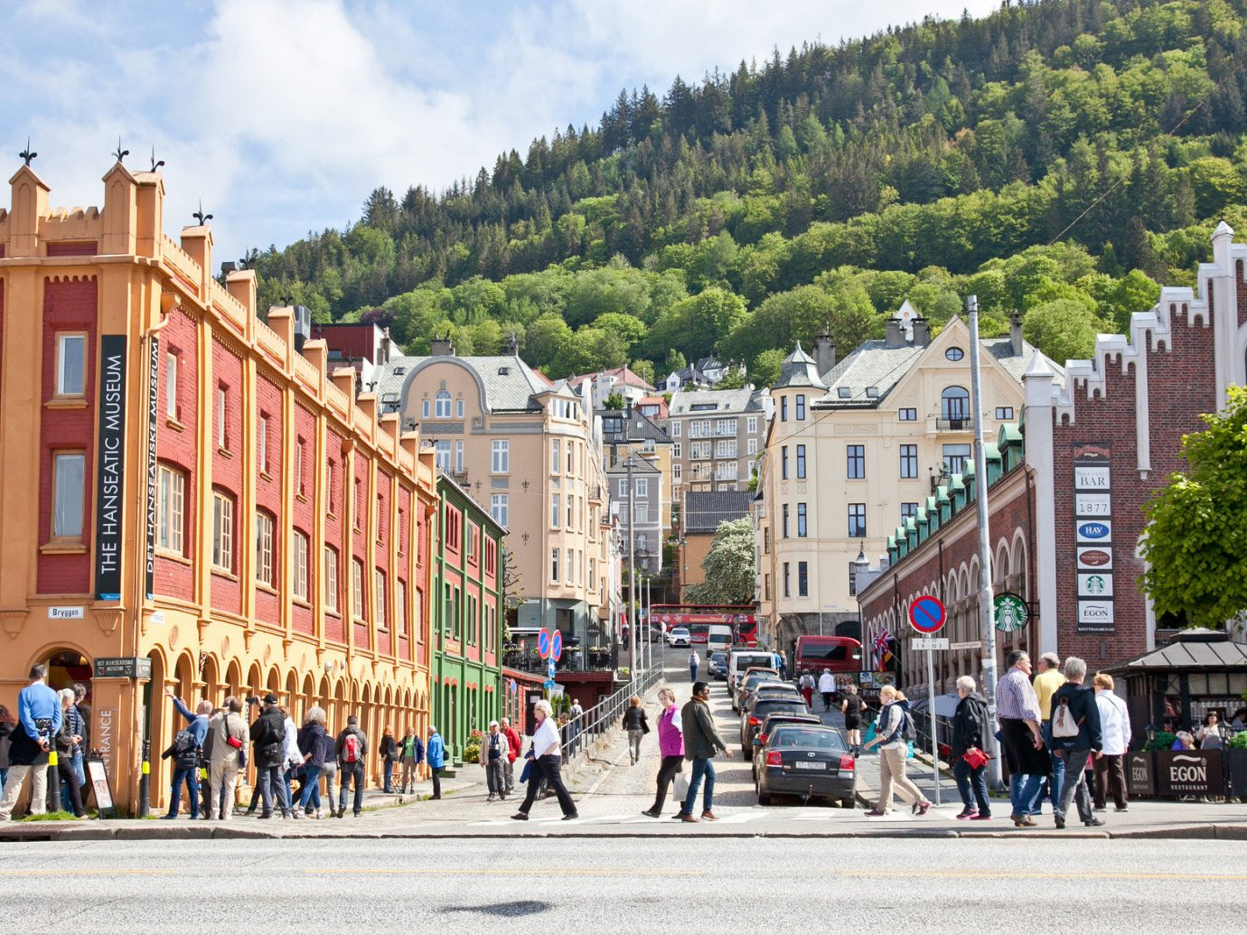 Architecture city streets europe Nature people streets trees Trip Ideas outdoor road Town City neighbourhood human settlement Downtown town square street tourism cityscape plaza infrastructure pedestrian walkway square crowd