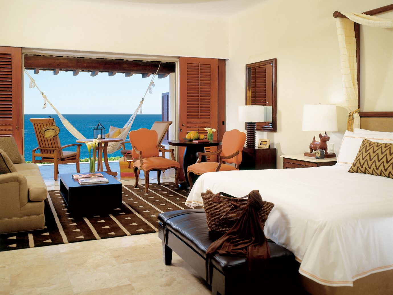 bedroom at Four Seasons Resort Punta Mita, Mexico