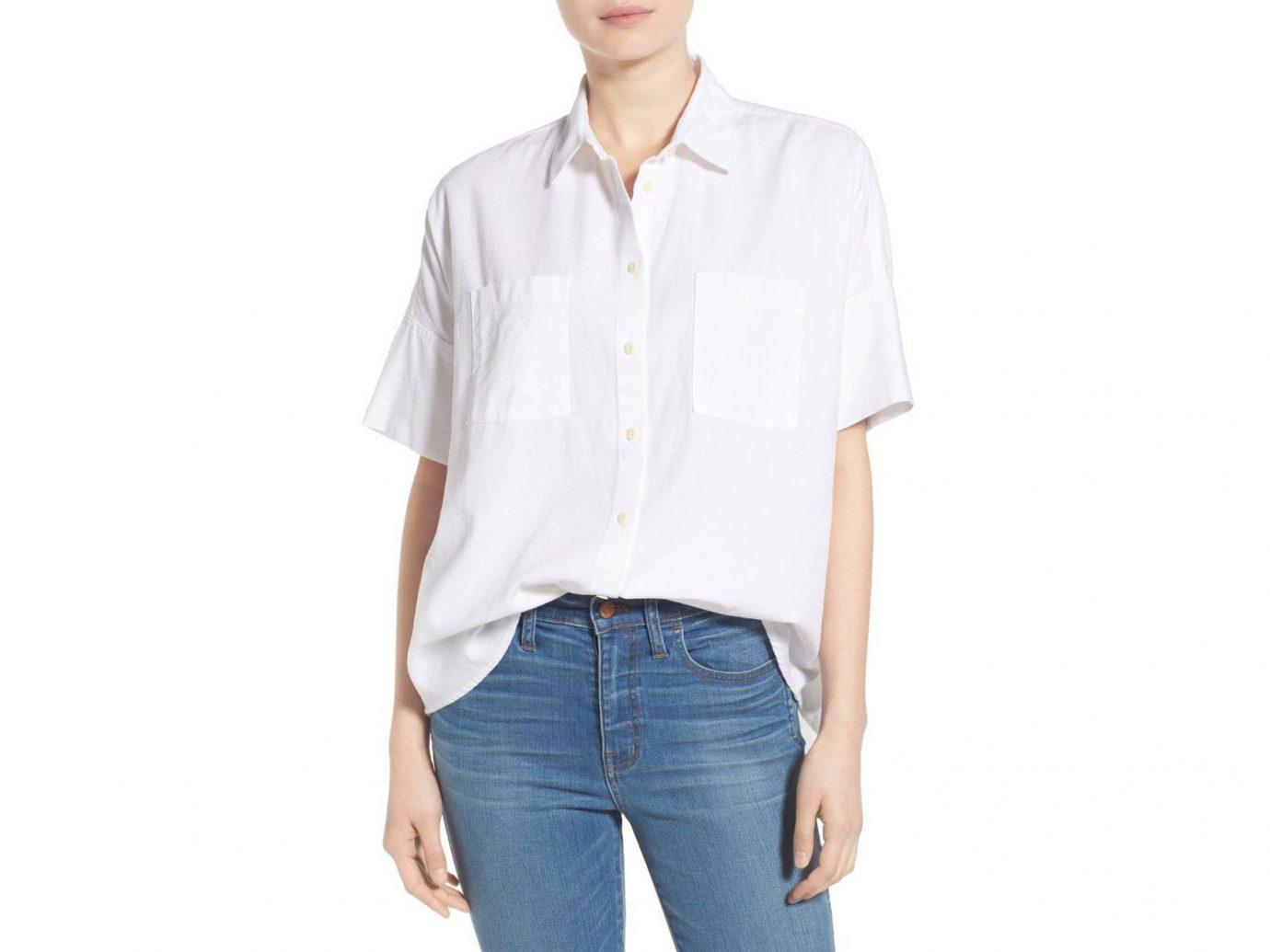 Style + Design Travel Shop person clothing sleeve standing shoulder shirt posing button blouse neck dress shirt trouser