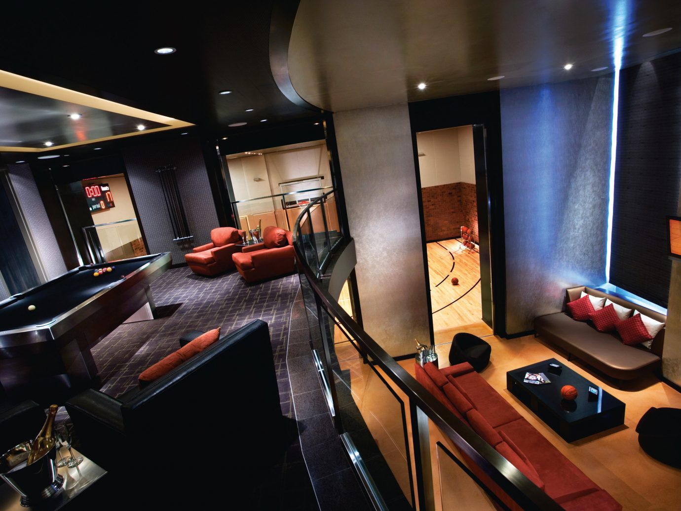 Hotels Luxury Travel indoor recreation room interior design studio