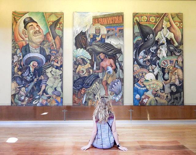 Arts + Culture floor gallery indoor scene painting room art modern art