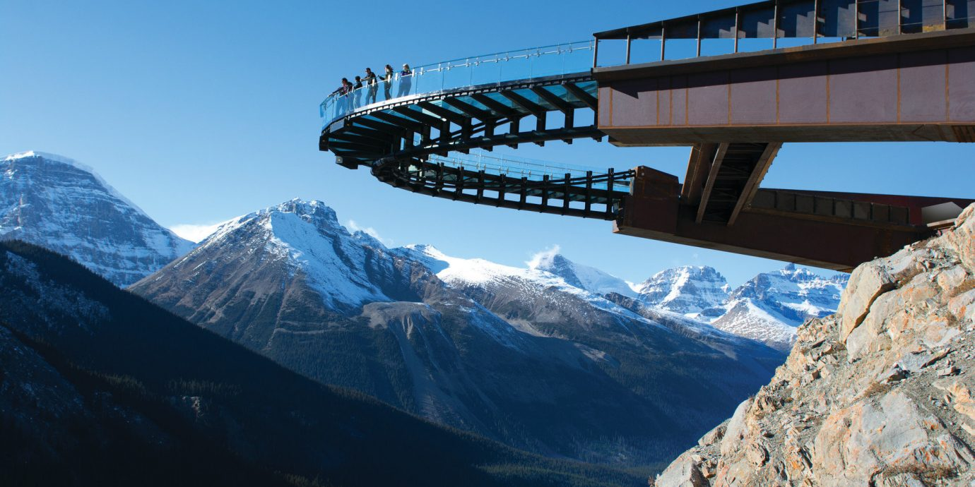 Trip Ideas mountain sky outdoor mountainous landforms snow mountain range landmark alps mountain pass bridge overlooking high distance