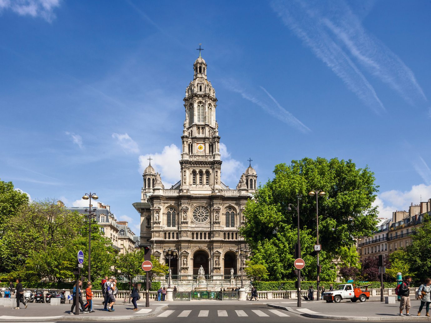 Romance Trip Ideas sky outdoor road tree landmark plaza City town square street Town human settlement tower cityscape Downtown place of worship monument Church cathedral square government building stone