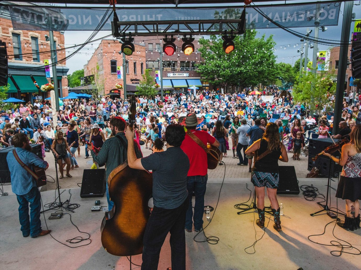 Trip Ideas person crowd outdoor people festival Sport group City event block party public event recreation street audience fun fête tree demonstration Downtown several