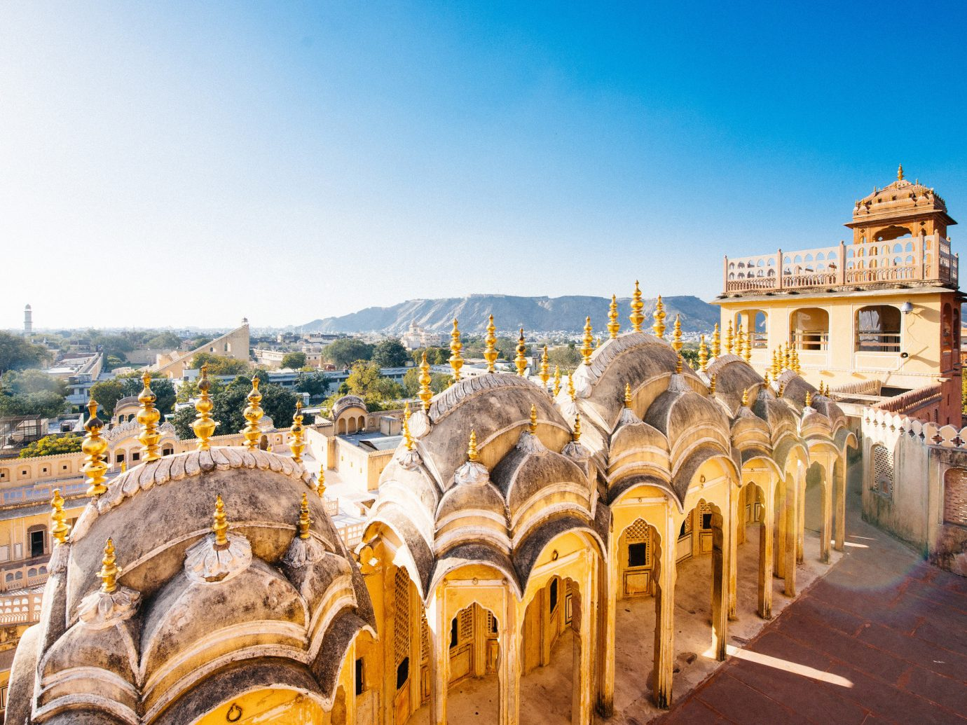 India Jaipur Jodhpur Trip Ideas sky landmark historic site ancient history tourist attraction tourism City building byzantine architecture history basilica facade arch place of worship cathedral