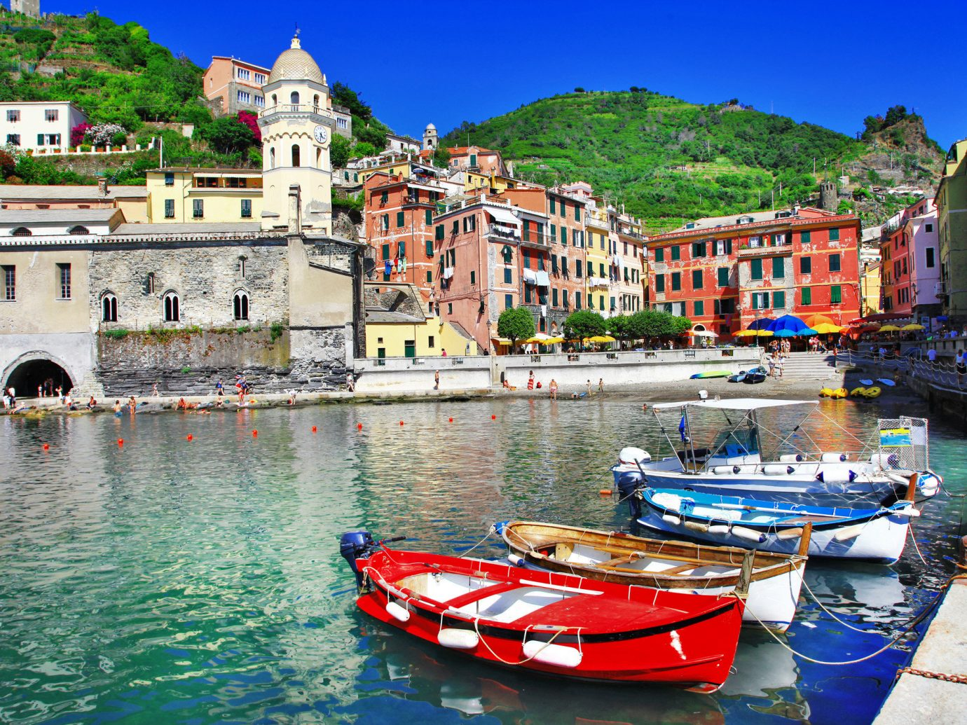 Italy Romance Trip Ideas water outdoor Boat waterway scene water transportation sky Harbor Town reflection tourism City watercraft Sea boating leisure Coast port Canal recreation several
