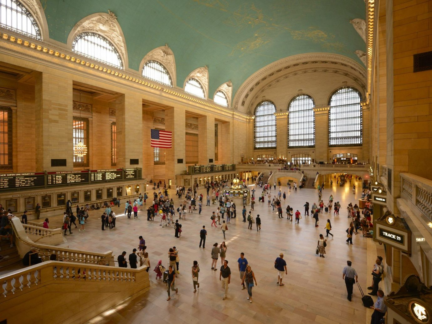 Budget building shopping mall plaza people tourist attraction ancient history retail palace hall colonnade several