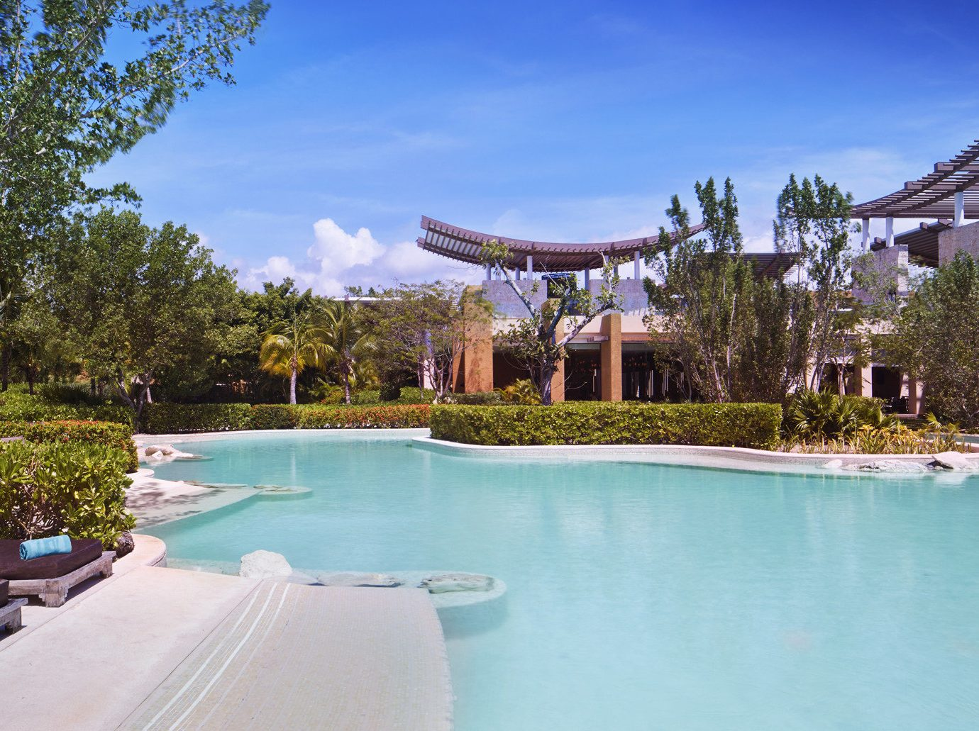Hotels Romance tree outdoor sky swimming pool leisure property building Resort estate house vacation Villa resort town mansion backyard real estate