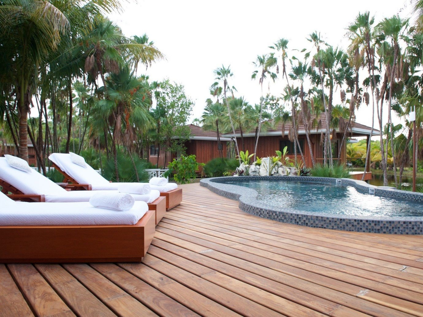 Trip Ideas tree outdoor swimming pool property leisure Resort Villa vacation backyard estate outdoor structure real estate jacuzzi eco hotel Deck furniture