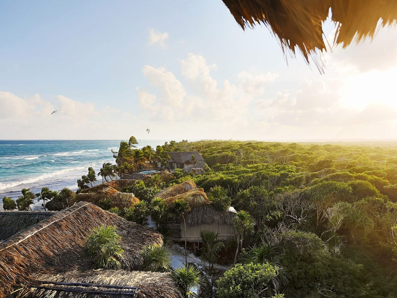 Hotels Trip Ideas outdoor sky Nature Sea Coast tree ecosystem horizon Ocean shore vacation morning sunlight landscape terrain cliff arecales